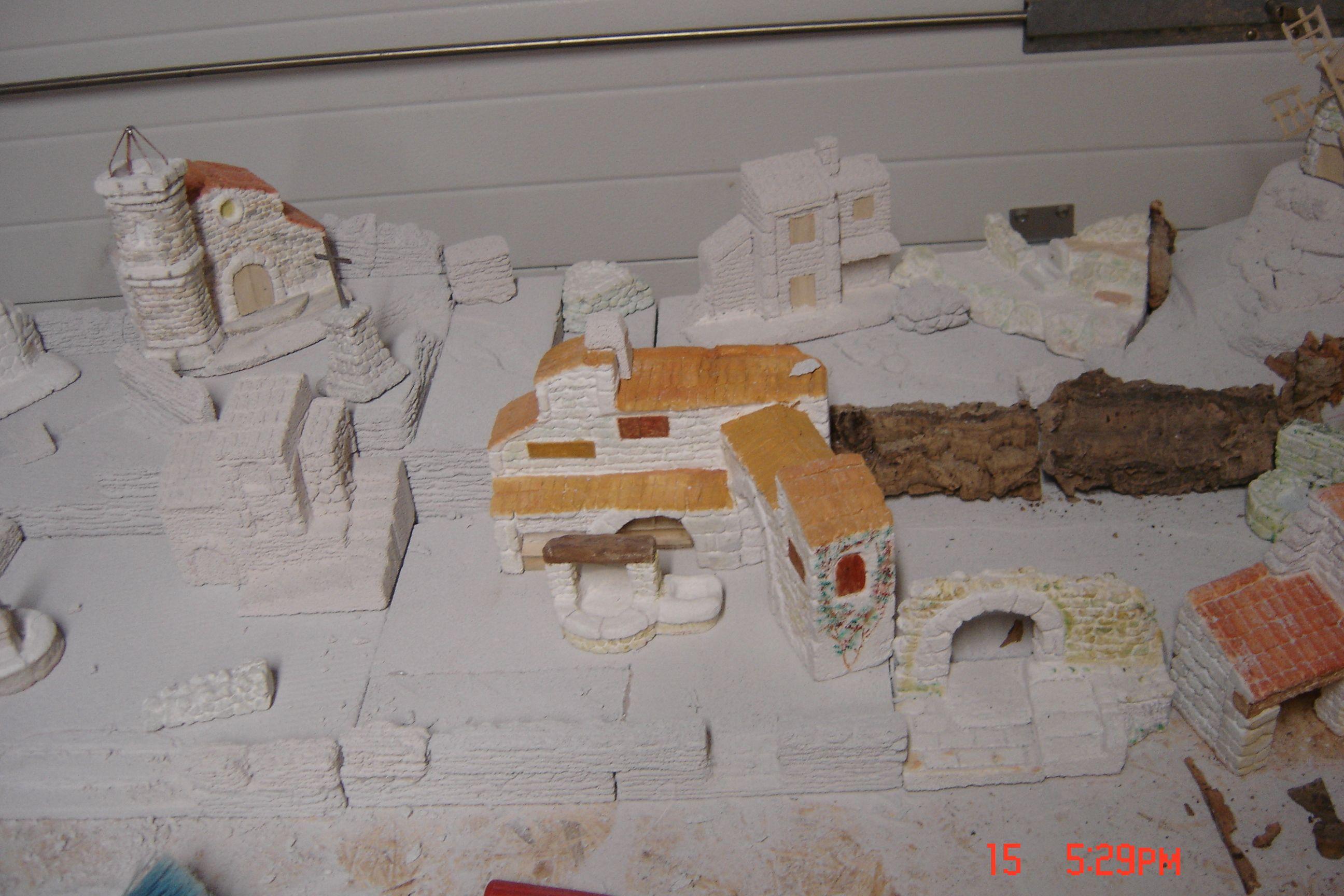 Villages miniature village proven ale - Fabriquer un village de noel en carton ...